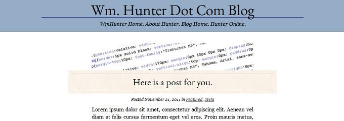 HTML Mockup
